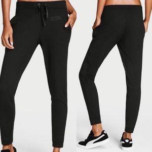 Victoria's Secret Sport Joggers Black Size Small